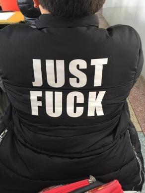 Just fuck